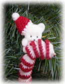 Bear with Candy Cane